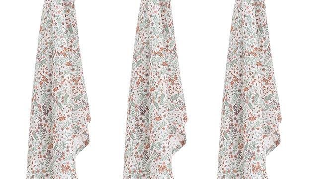 Lange - Bloom -70x70cm - 3 Pièces
