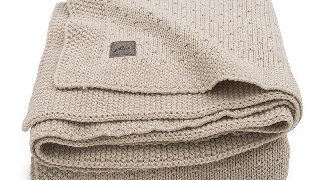 Couverture- 75x100cm Bliss knit nougat-