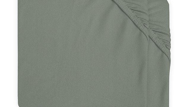 Drap-housse jersey 60x120cm Ash green (2pack)
