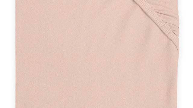 Drap-housse jersey 60x120cm rose pale