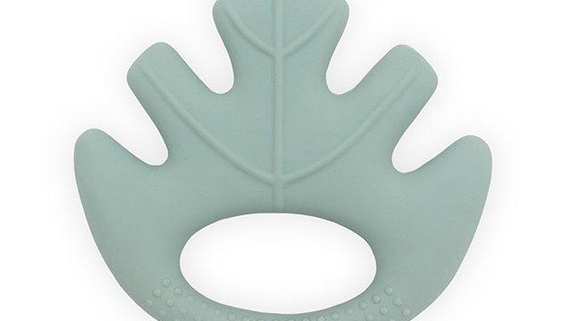 Anneau de dentition caoutchouc -Leaves ash vert-