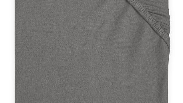 Drap-housse jersey 60x120cm gris