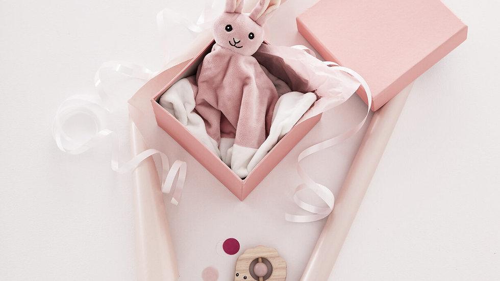 Doudou bébé Edvin lapin