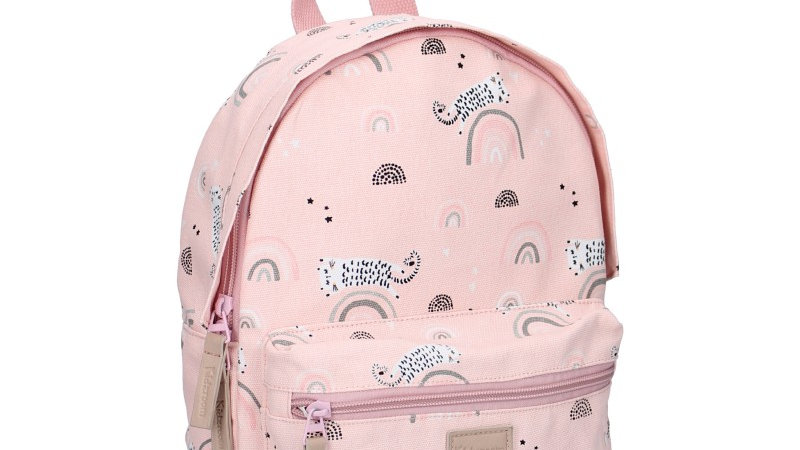 Sac à dos enfant Mini Pink Arc-en-ciel - Rose par Kidzroom
