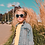 Thumbnail: LUNETTE -CHILL STEEL BLUE -SIZE 4+ 100%UV