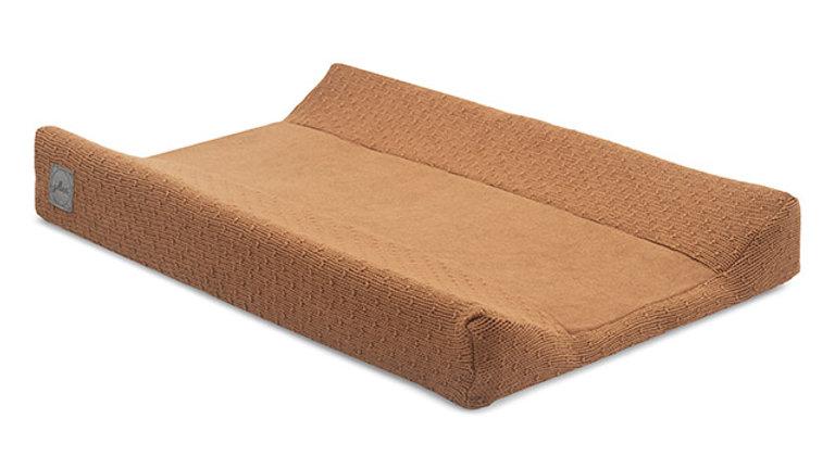 Housse pour matelas à langer -50x70cm Bliss knit caramel-