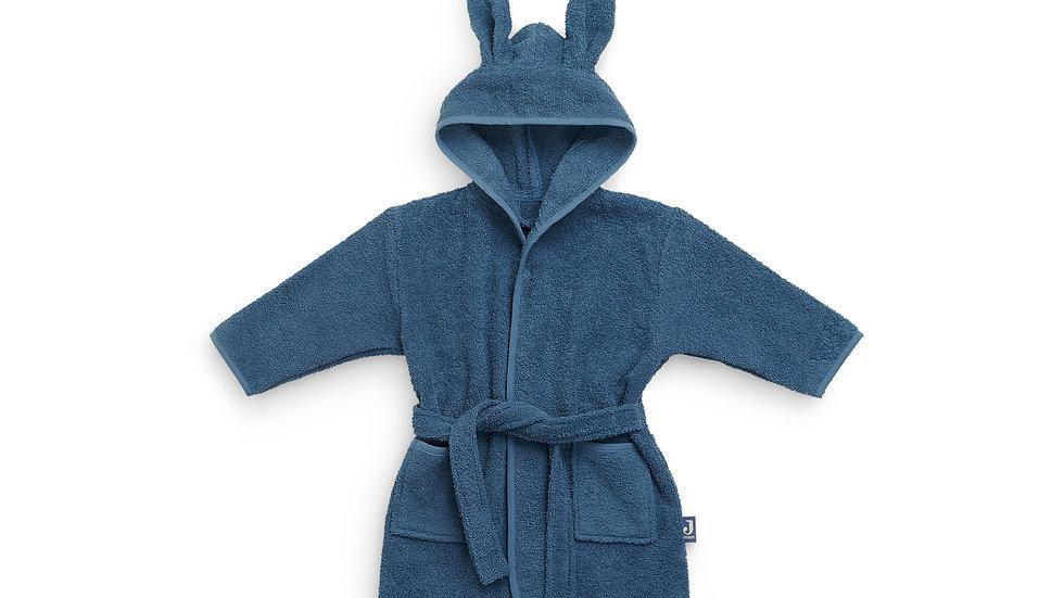 Peignoir bébé 1-2 ans - Bleu Jean