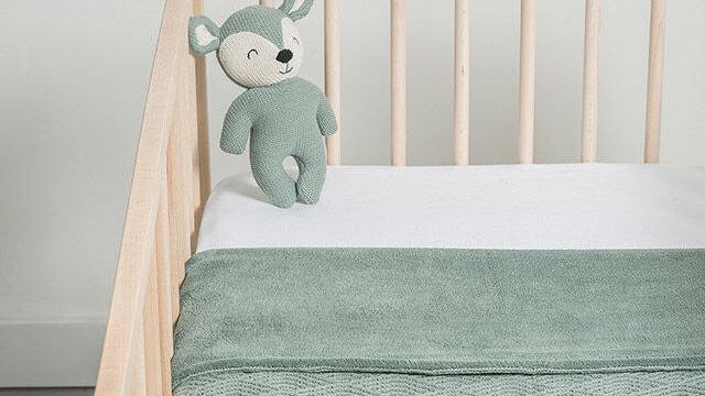 Peluche -Deer vert-
