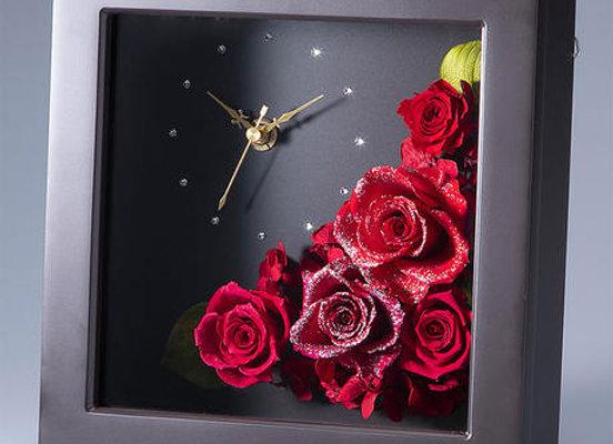 ダイヤモンドプリザーブドフラワー・花時計(全4色)
