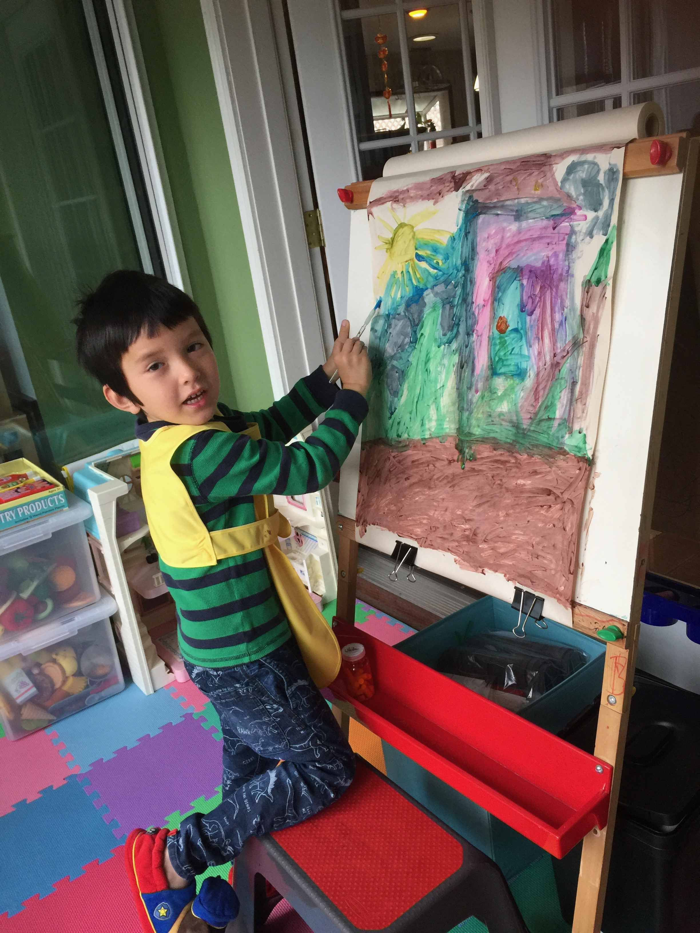 Josiah Painting 2