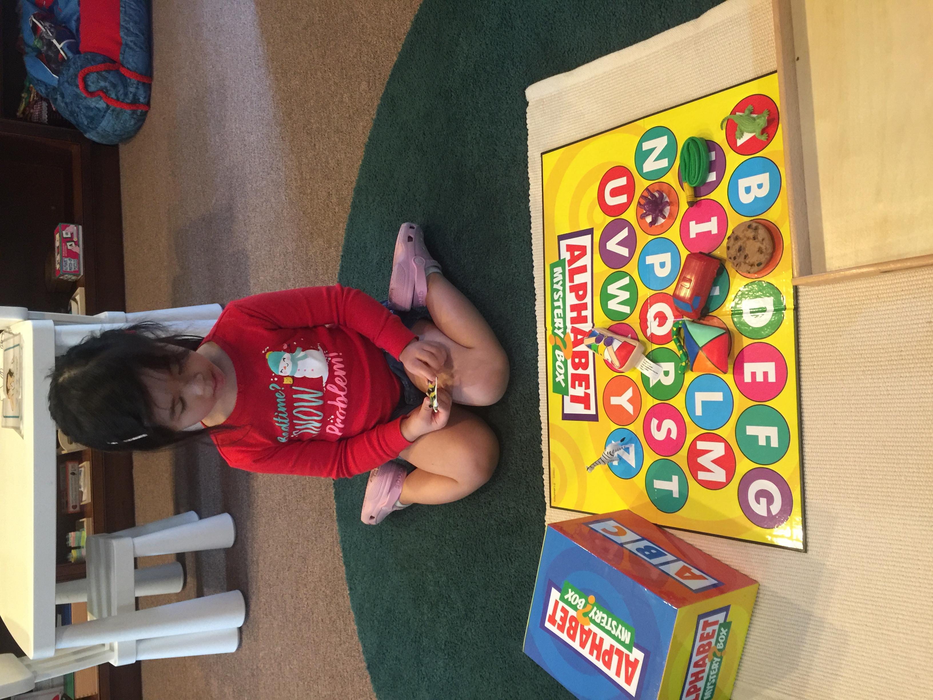 Alphabet Mystery Box
