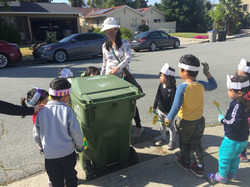 Introducing bin for compost