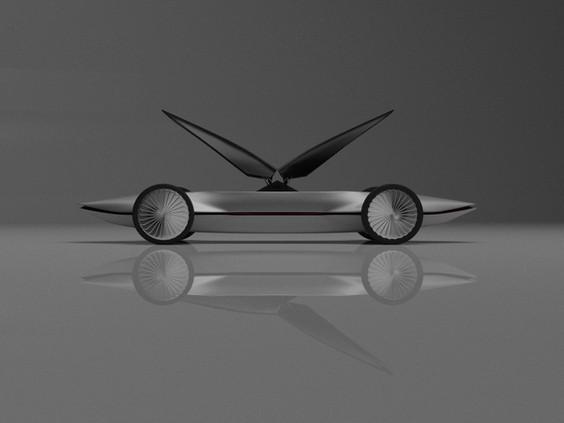 The symmetric car.