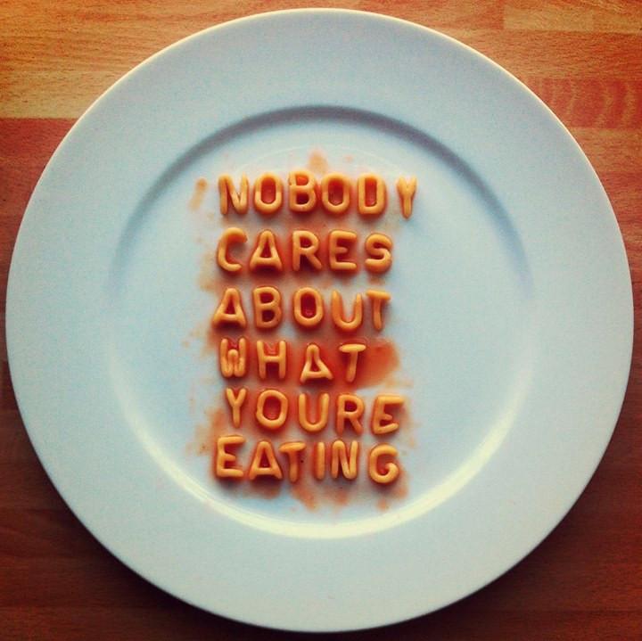 publicar lo que comes