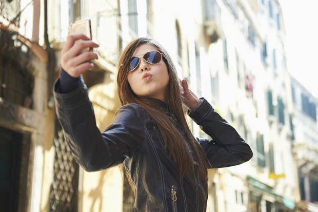 subir demasiados selfies