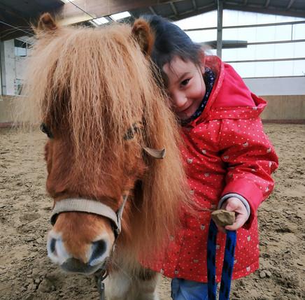 Pferdemädchen Sophie!