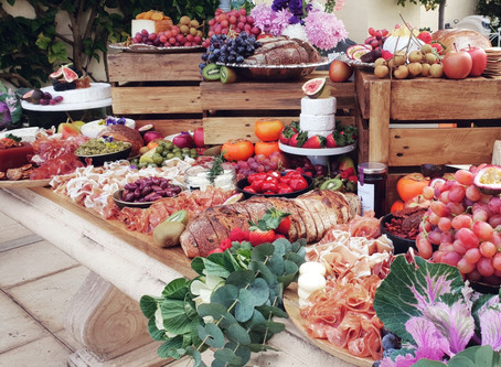How to create a stand out grazing table for your event. Here are our tips and tricks!
