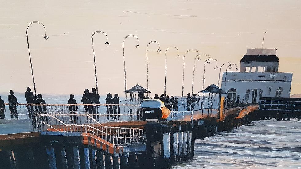 St.Kilda Pier with Victorian Kiosk