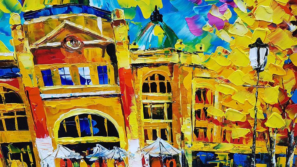 Flinders St.Station Color Galore