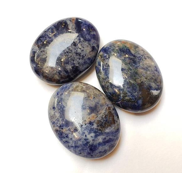 Sodalite pillow/palm stone