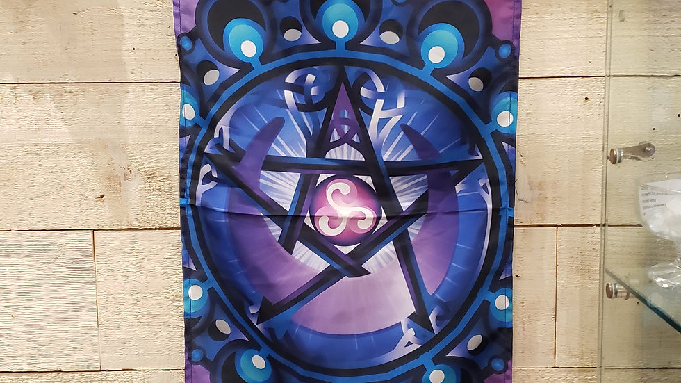 pentagram tapestry