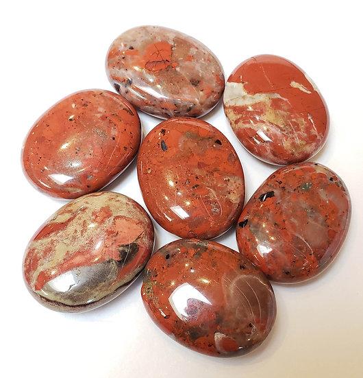 Brecciated Jasper pillow/palm stone