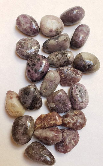 Lepedolite Tumbled