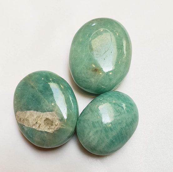 Amazonite pillow/palm stone