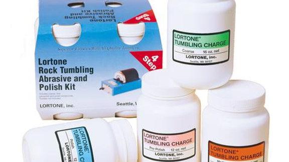 Lortone Tumbling Grit kit