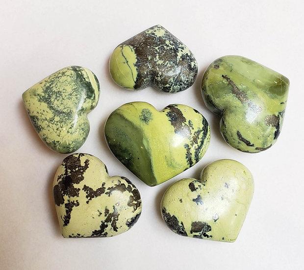 Medium Serpentine hearts