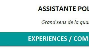 Candidature Assistante polyvalente