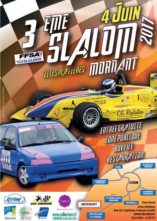 Sport et entreprise voguent sur les mêmes valeurs : Slalom automobile de Mornant - 4 juin 2017