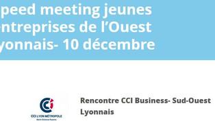 Speed meeting business entreprises de l'ouest lyonnais
