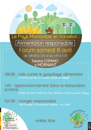 Forum Alimentation Responsable - le 8 avril 2017