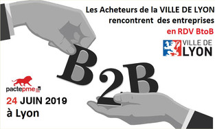 RDV BtoB - Ville de LYON- Entreprises 24 juin 2019