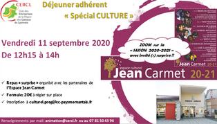 Déjeuner Adhérent Septembre 2020