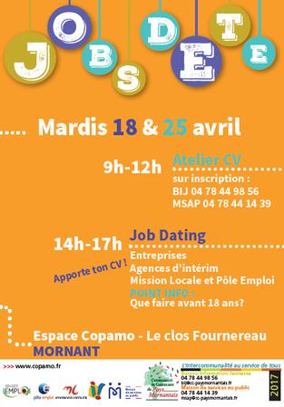 Forum Job d'été - Mardi 25 avril