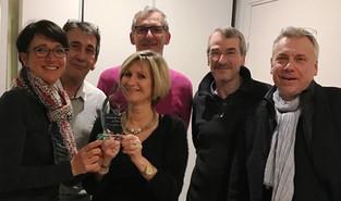 Les liens se resserrent entre les chefs d'entreprises, vainqueurs du trophée du CERCL
