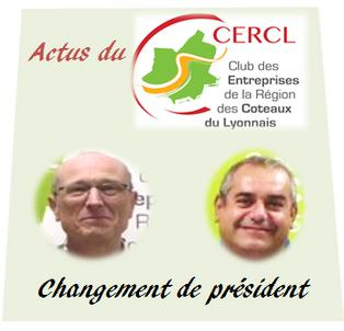 Actus du CERCL -Changement de président