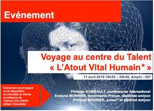 Voyage au centre du talent - 11/04/2019