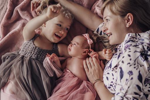 Lifestyle Newborn Session in Zürich