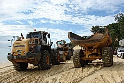 Seguro para maquinaría pesada de construcción
