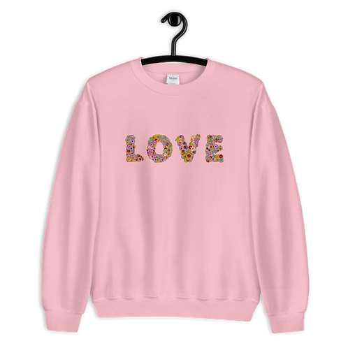 Love #Colors Sweatshirt