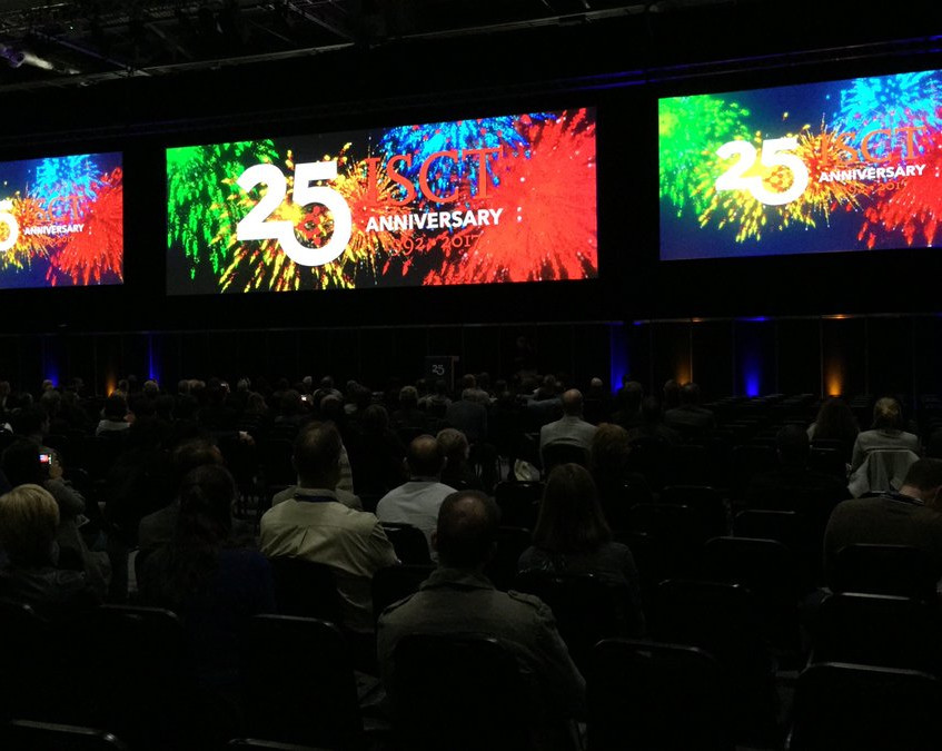 Welcome to the 25th anniversary of ISCT.