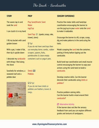 The Beach Sample Page