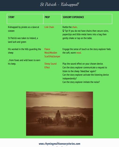 St Patricks Day Story Sample