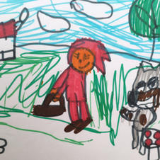 'Little Red Riding Hood' by Marshall (10)