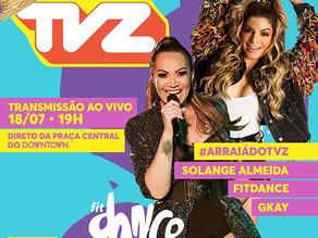 Gravação e transmissão do TVZ Ao Vivo