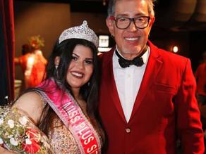 Nicolle Santana é coroada Miss Plus Size Carioca 2018