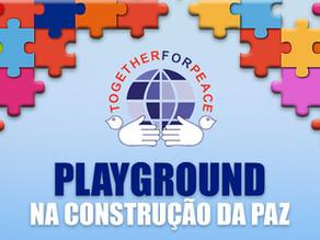 """Evento Beneficente """"Playground: na Construção da Paz"""", dia 30 de setembro, no Campo Olímpico de Golf"""